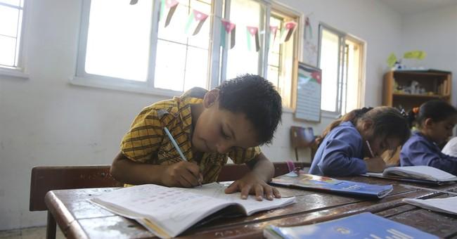Third of Syrian refugee kids not in school, despite pledges