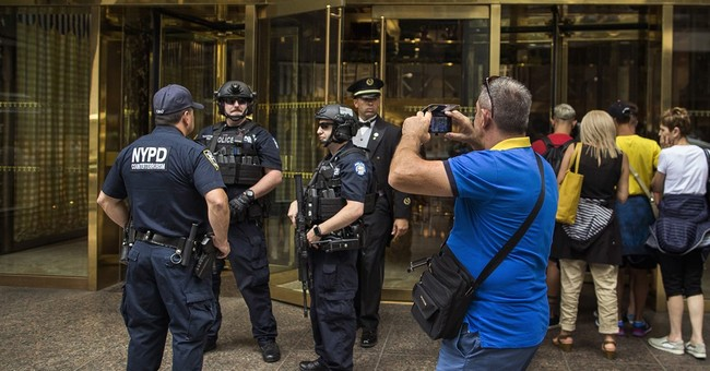 The Latest: 2 arrests amid protests around Trump Tower