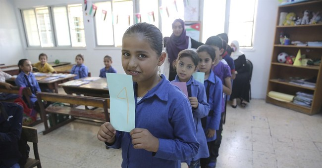 Third of Syrian refugee kids not in school, despite pledges