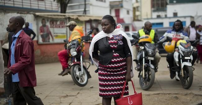 Kenyan president urges peace as capital resumes normal life