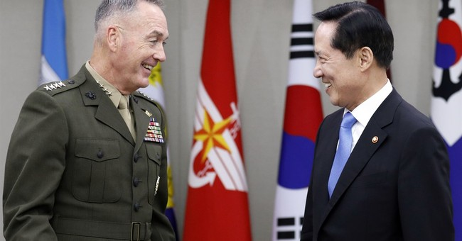 Dunford meets with Korean defense leaders