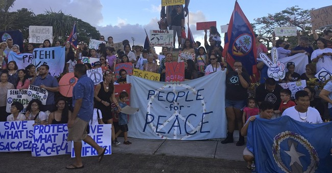 North Korea threat prompts Guam natives to assert rights