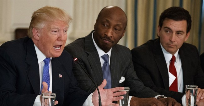 Trump mocks exec for quitting advisory council over racism