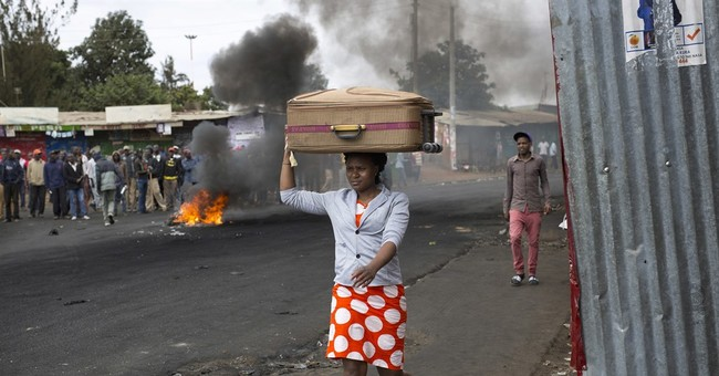 The Latest: Many Kenyans go to work despite stayaway call