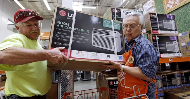 The boom is booming and Home Depot is setting records