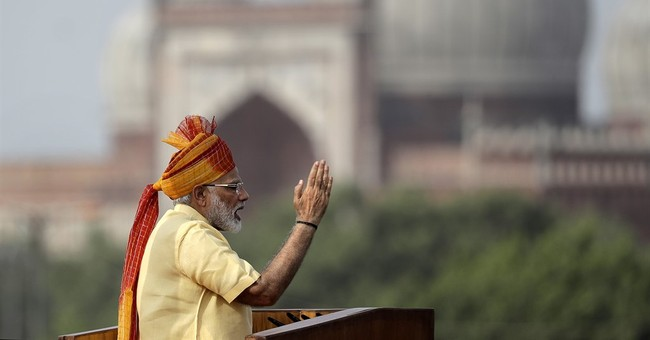 Indian prime minister pledges to wipe out graft from country