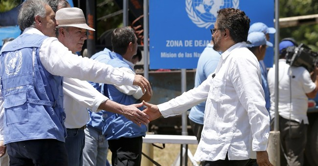 UN removes last container holding Colombia rebel weapons