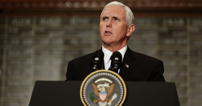 Pence won't address Trump comments but condemns supremacists
