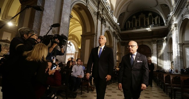 The Latest: Pence tells Latin America the US still cares