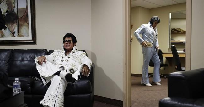 AP PHOTOS: Elvis has never left the building in Las Vegas