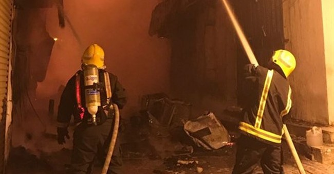 Fire destroys buildings in historic Saudi neighborhood