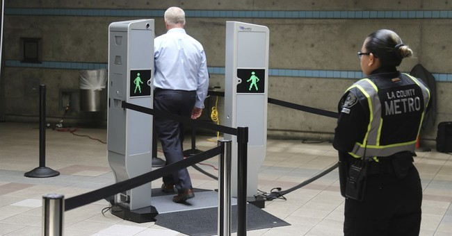 Body scanners being piloted in Los Angeles subway system