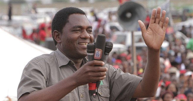 Top Zambia opposition leader freed, treason charges dropped