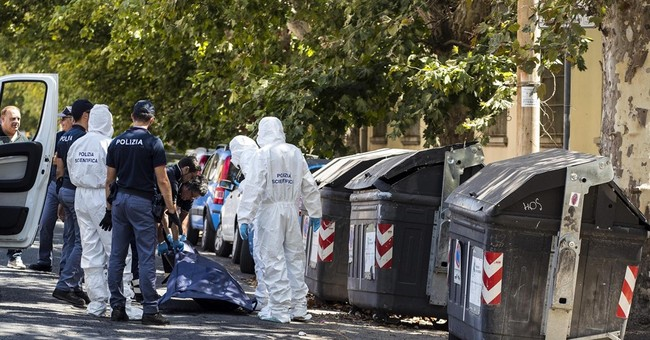 Man held in Rome after sister's dismembered body found trash