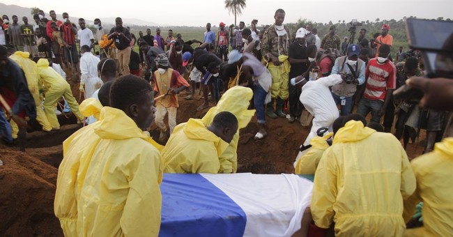 The Latest: Chance of Sierra Leone survivors gets 'smaller'