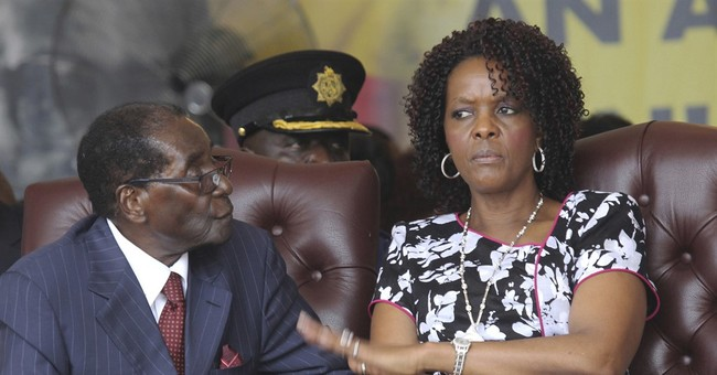 Zimbabwe's first lady remains quiet amid assault claims