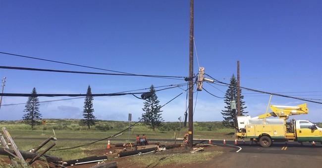 Crews set to restore power to much Hawaii's Lanai Island