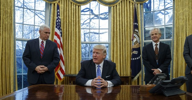 Trump undoes parts of Obama agenda with executive actions