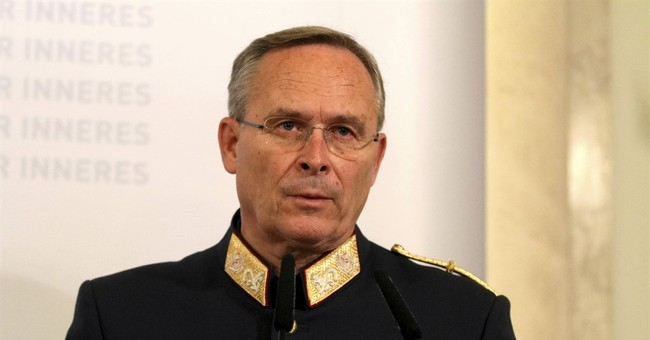 Austrian official: suspect potentially dangerous radical