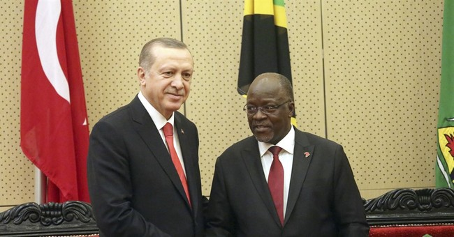 Turkey's Erdogan urges Tanzania to end Gulen ties
