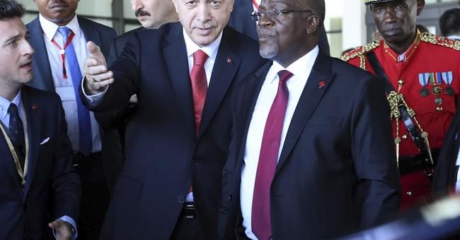 Turkey's Erdogan urges Tanzania to end Gulen ties