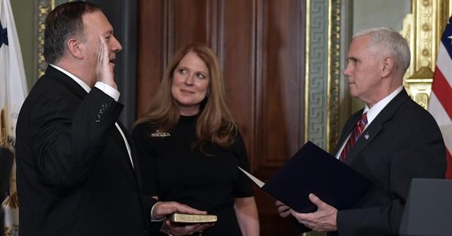 Former congressman Mike Pompeo sworn in as CIA director