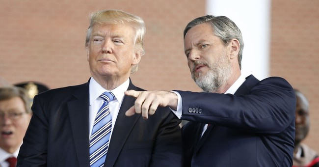 Grads returning diplomas to protest Falwell's Trump support