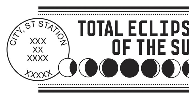 US post offices in path of eclipse offer special postmarks