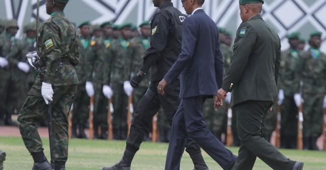 Rwanda leader Kagame inaugurated; won nearly 99 pct of vote