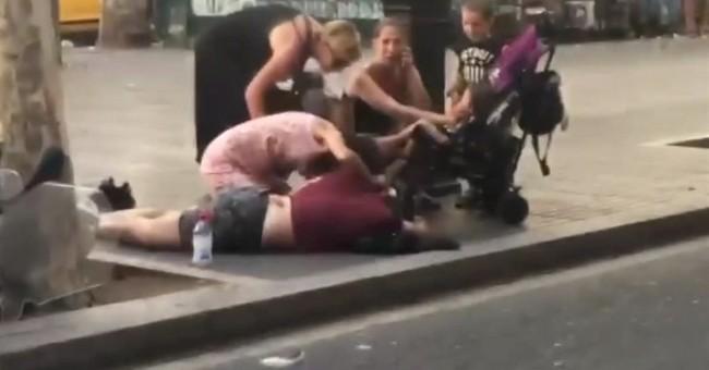 Barcelona's victims include US man celebrating anniversary