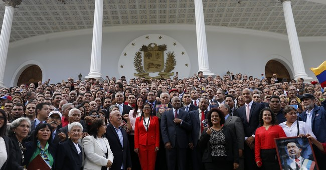 Pro-government assembly in Venezuela takes congress' powers