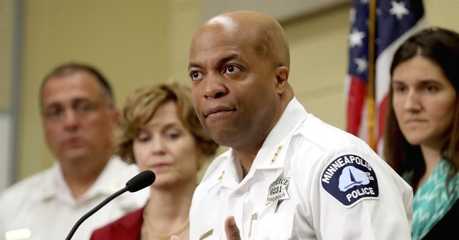 Minneapolis taps new chief in wake of Damond shooting