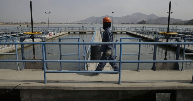 Getting water to Peru's desert capital is no easy task