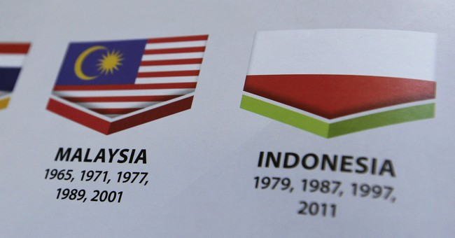 Malaysia apologizes for showing Indonesia's flag as Poland's