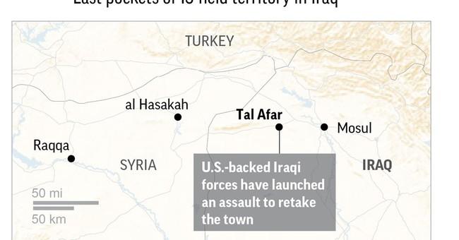 Iraqi commander: Troops capture 2 neighborhoods in Tal Afar