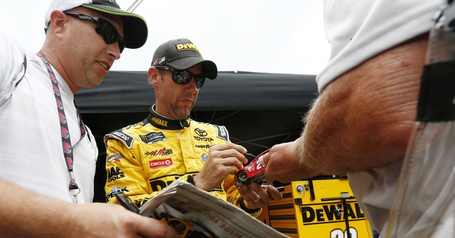 Kenseth puts on brave face as he's being shown the door