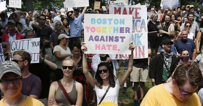 Free speech supporters: Outnumbered, but rally was a success