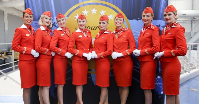Russian flight attendant sues airline for discrimination