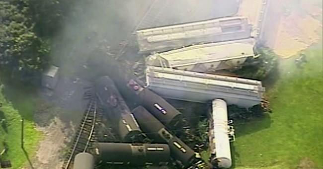 Feds say brake problems preceded derailment in Pennsylvania