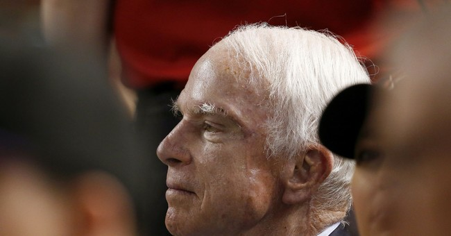 Between cancer treatments, McCain maintains rigorous agenda
