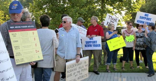 Kansas Rep. Yoder tries to balance GOP views, centrist tone