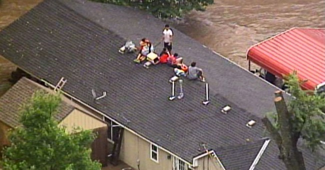 Heavy rains lead to water rescues in Kansas City area