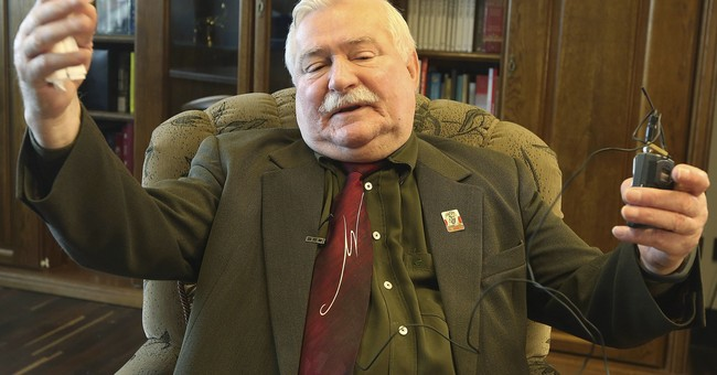 Poland's ex-president Walesa unhurt after minor car accident