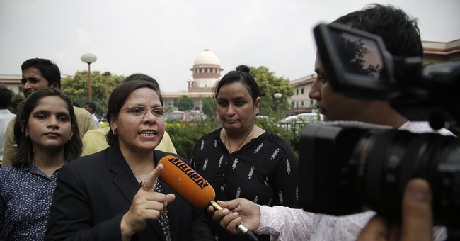 India's top court: Instant divorce among Muslims unlawful