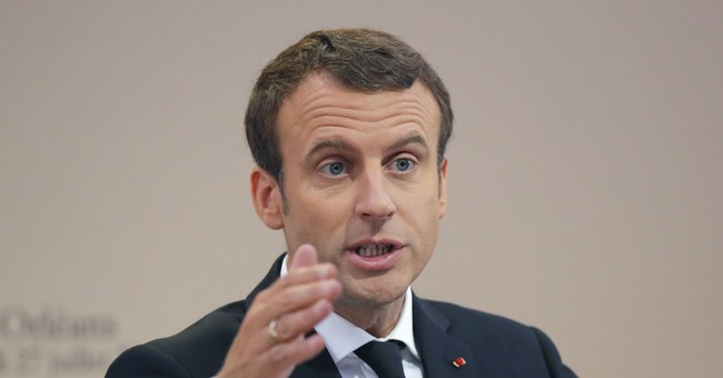 France's Macron heads east to tame flow of cheaper workers