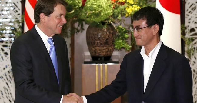 Japan minister sees unity with Trump, pressure on N. Korea