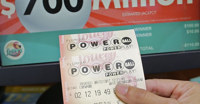 The Latest: Lottery: Nerves to blame for error on store