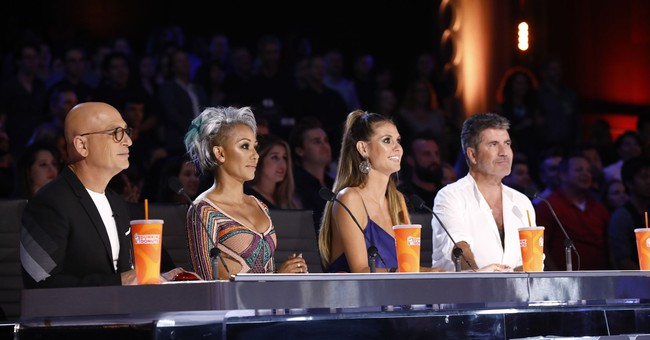 Mel B dumps water on Simon Cowell on 'America's Got Talent'