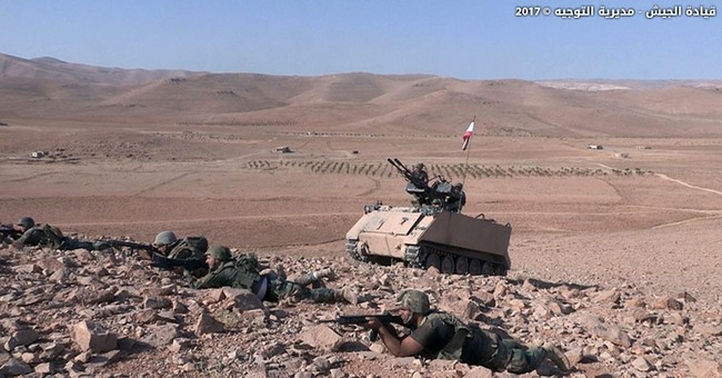 Syrian officer: Anti-IS fight near Lebanon border soon over