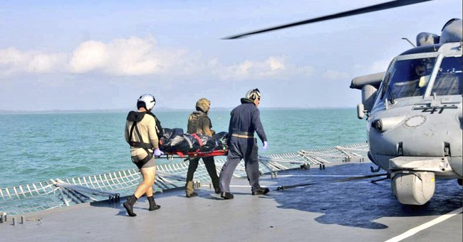 Navy ends sea search for McCain missing; confirms 1 death